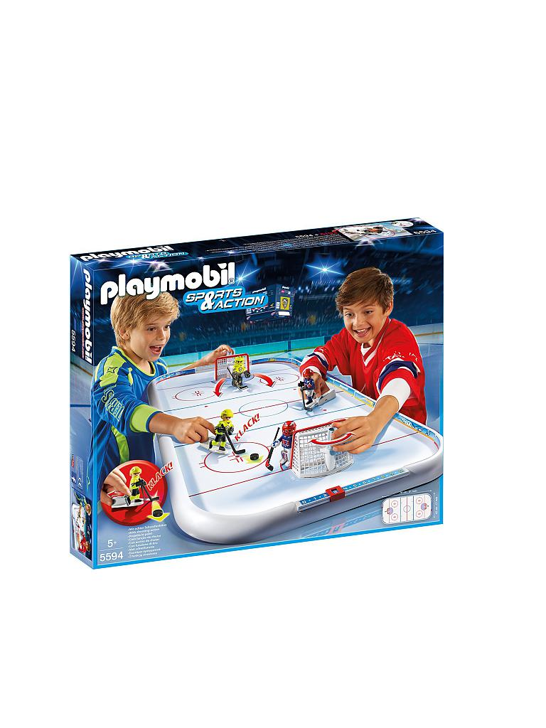 PLAYMOBIL | Sports & Action - Eishockey-Arena 5594 | transparent
