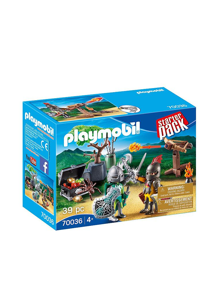 Playmobil PLAYMOBIL® 70036 StarterPack Kampf um den Ritterschatz