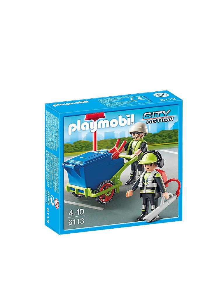 PLAYMOBIL | Strassen-Reinigungsteam | transparent