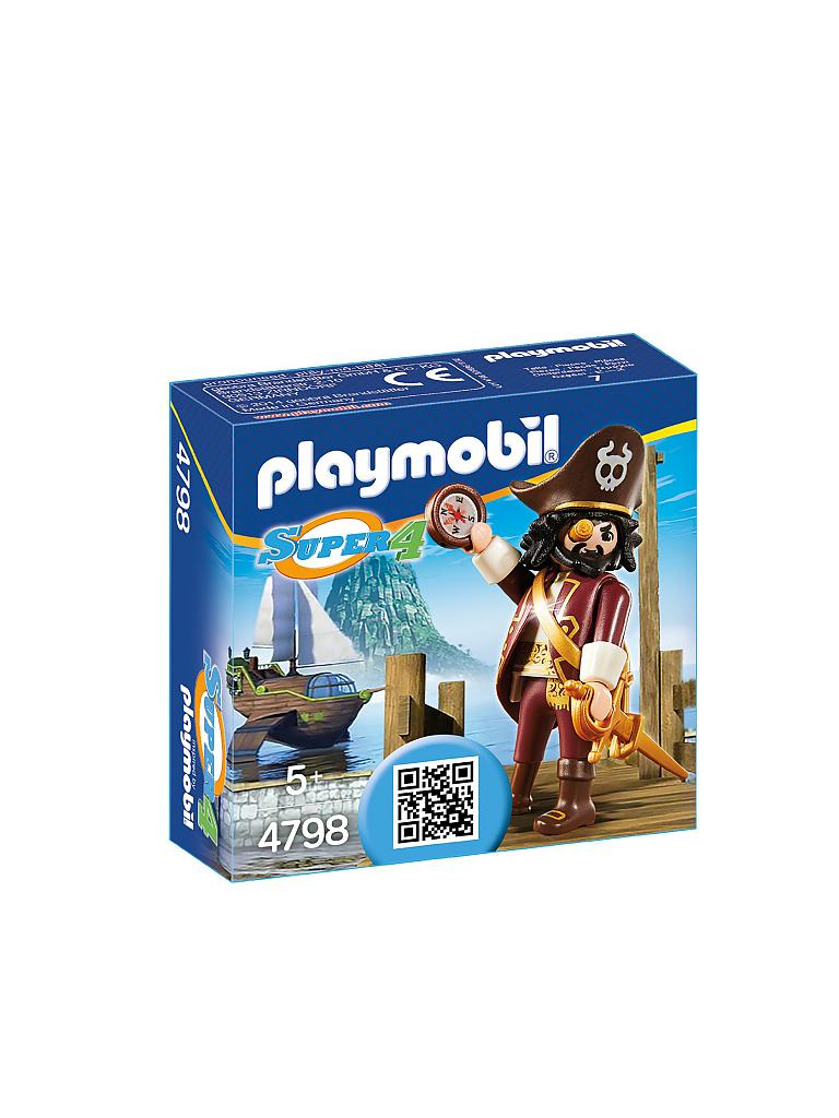 PLAYMOBIL | Super 4 - Shakebeard | transparent