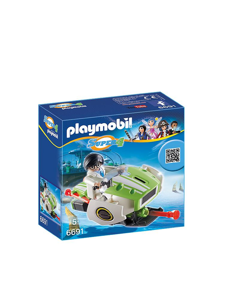 PLAYMOBIL | Super 4 - Sky Jet | transparent