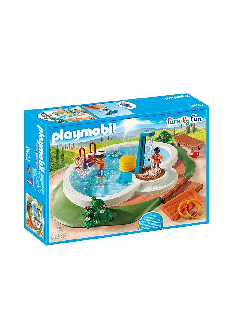 Playmobil Swimmingpool 9422 Transparent