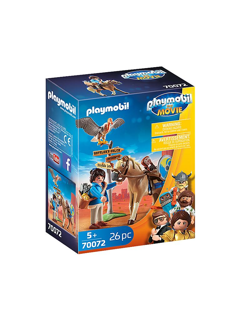 PLAYMOBIL | THE MOVIE Marla mit Pferd 70072 | transparent