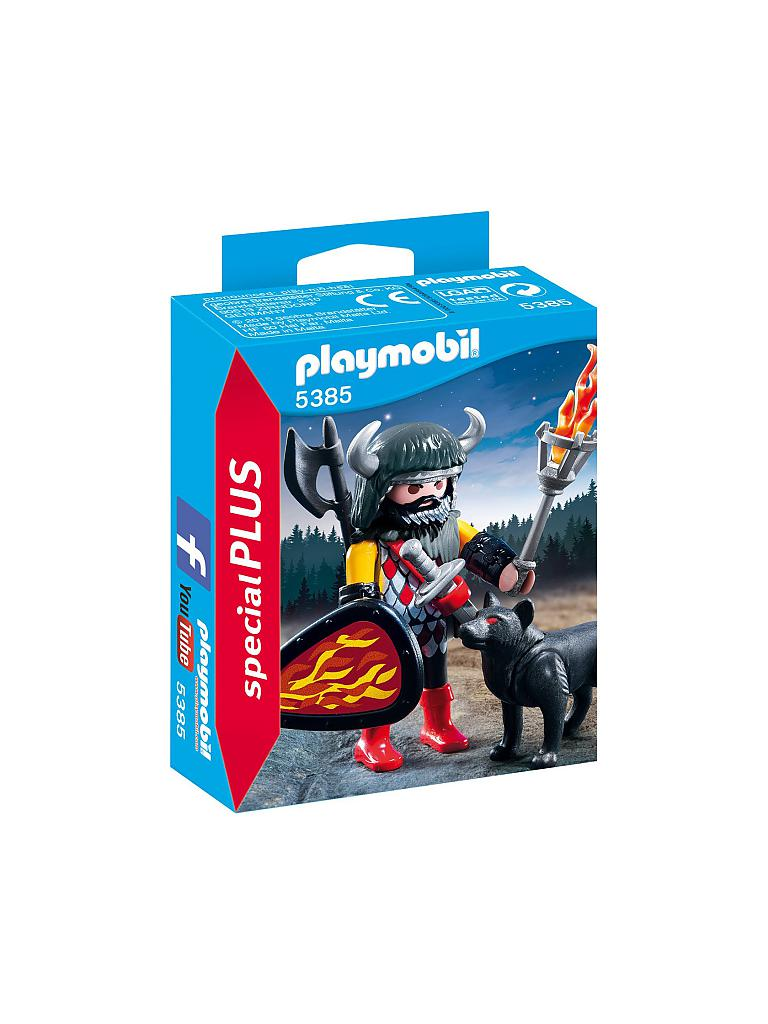 PLAYMOBIL | Wolfskrieger | transparent