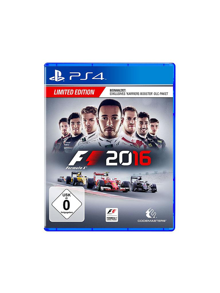 PLAYSTATION 4 | F1 2016 Limited Edition | transparent