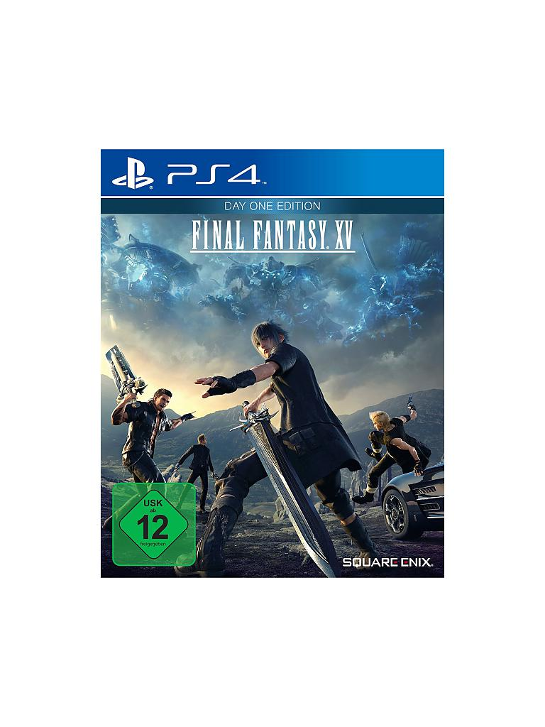 PLAYSTATION 4 | Final Fantasy XV - Day One Edition | transparent