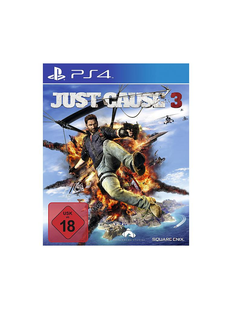 PLAYSTATION 4 | Just Cause 3 | transparent