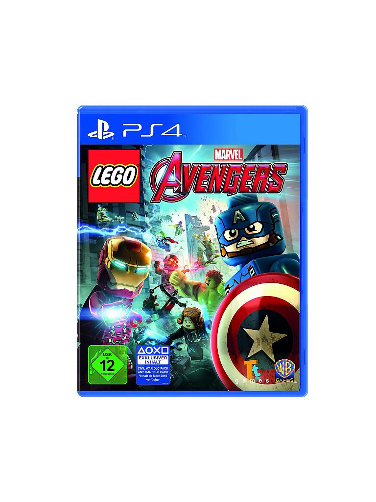 PLAYSTATION 4 | LEGO - Marvel Avengers | transparent