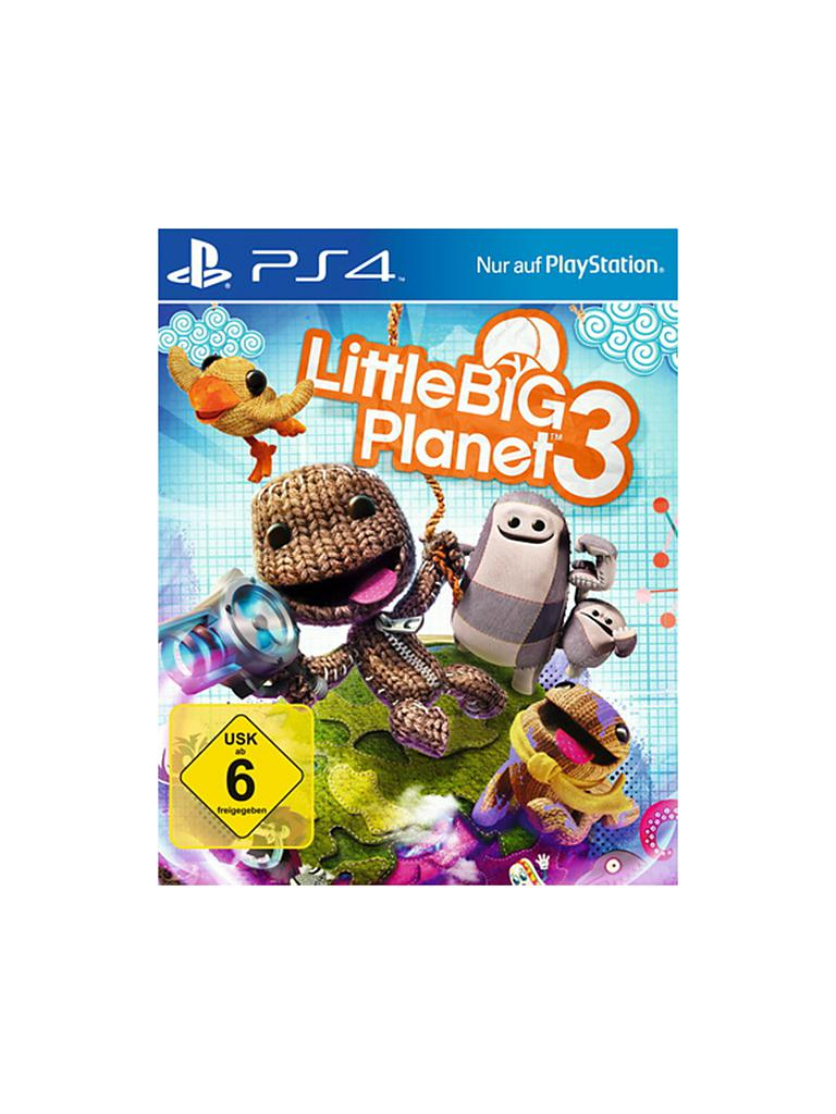 PLAYSTATION 4 | Little Big Planet 3 | transparent
