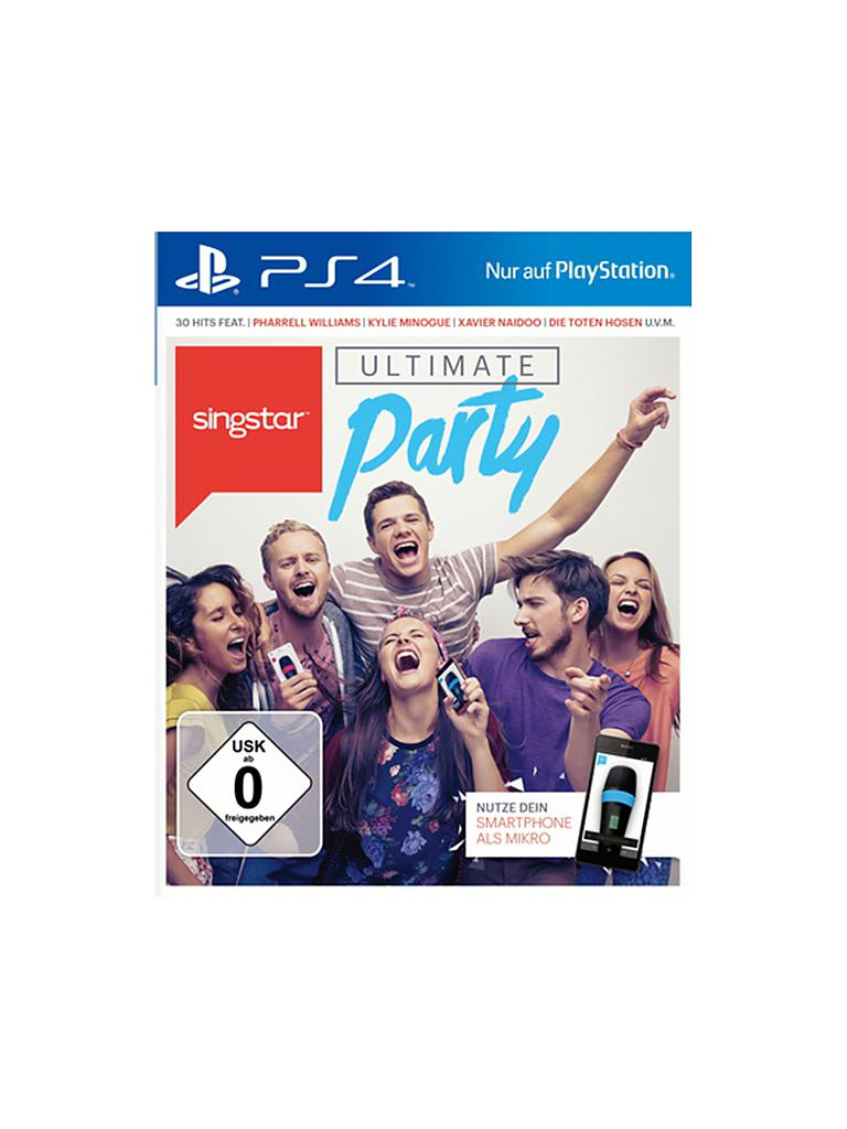 PLAYSTATION 4 | Sing Star - Ultimate Party | transparent