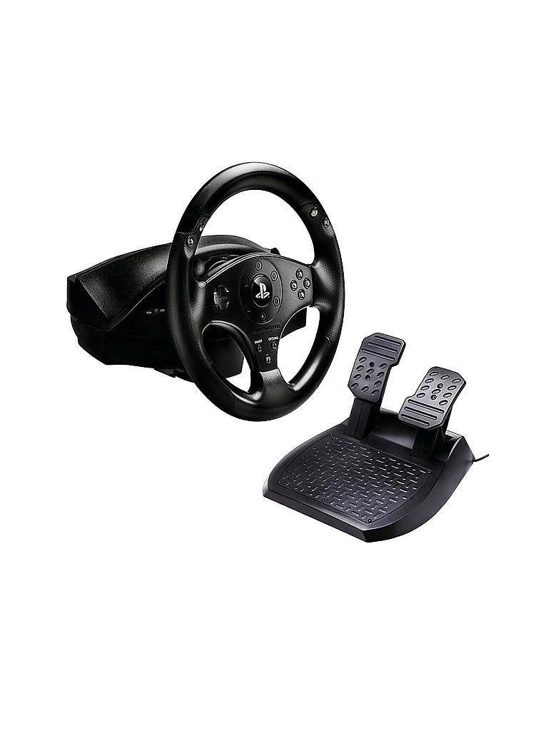 playstation 4 t80 racing wheel lenkrad transparent. Black Bedroom Furniture Sets. Home Design Ideas