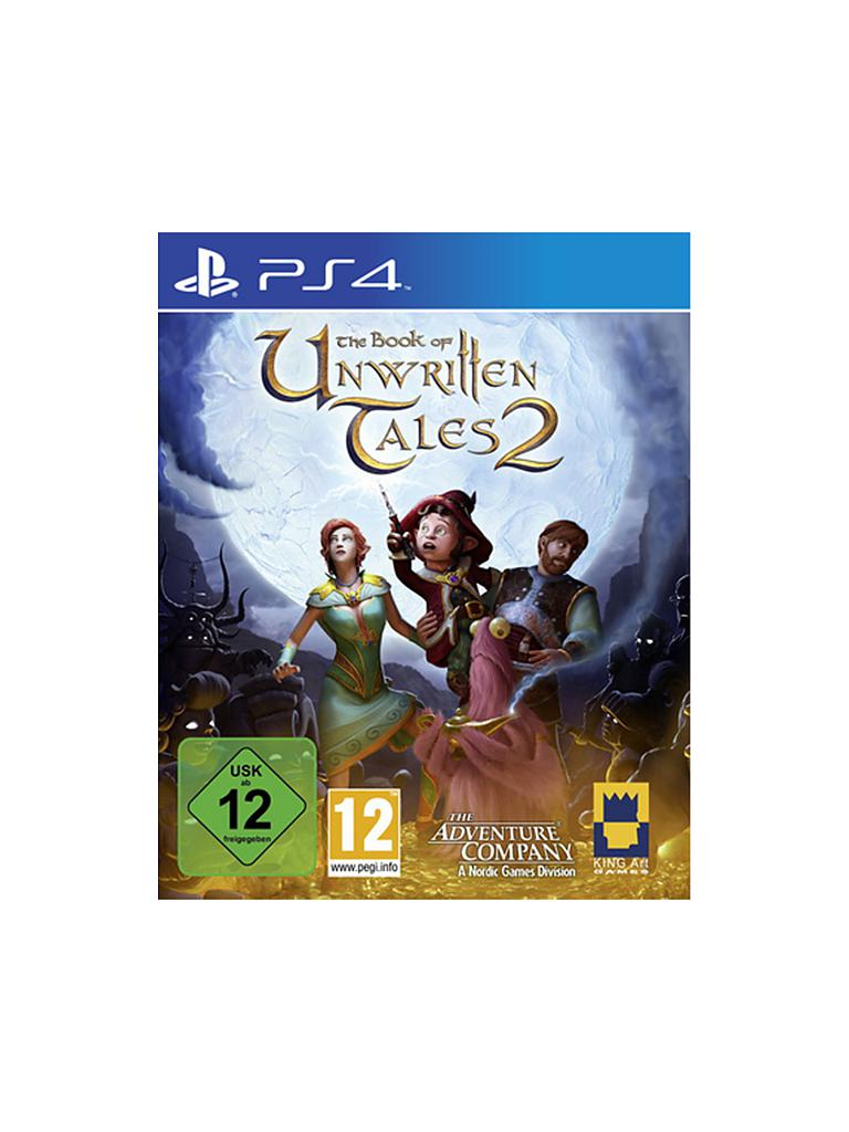 PLAYSTATION 4 | The Book of Unwritten Tales 2 | transparent