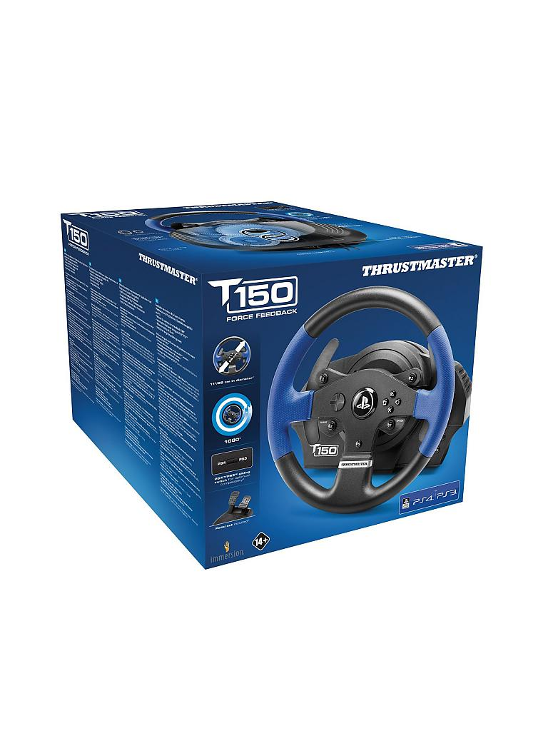 playstation 4 thrustmaster lenkrad tm t150 rs racing. Black Bedroom Furniture Sets. Home Design Ideas