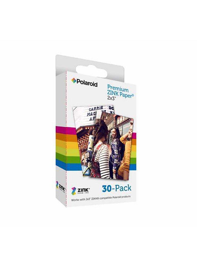 POLAROID Zink Zero Ink Fotopapier 2x3 Media 30-er Pkg. bunt