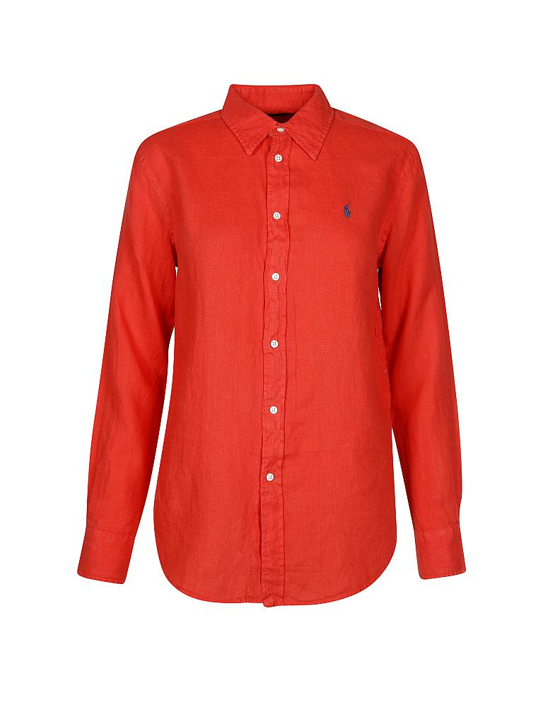 5c6ab57e570276 POLO RALPH LAUREN Bluse Relaxed-Fit rot