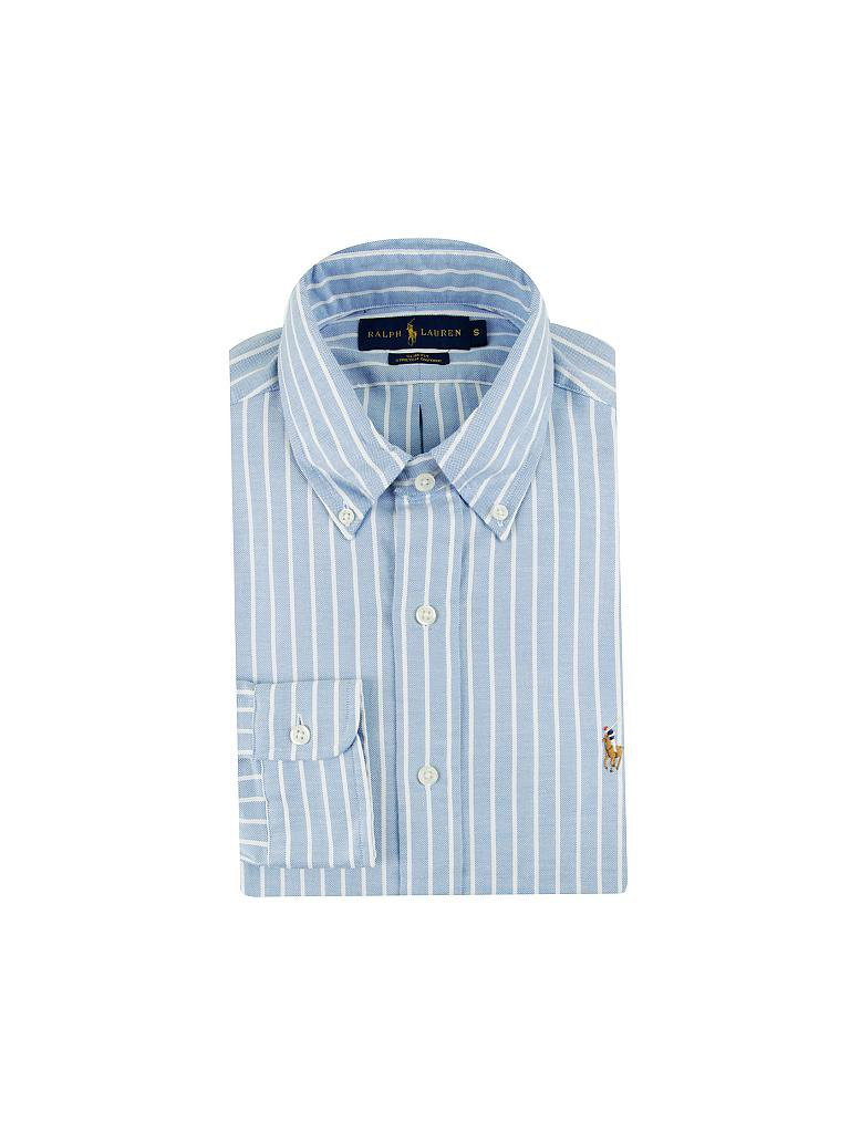 POLO RALPH LAUREN | Hemd Slim-Fit  | blau