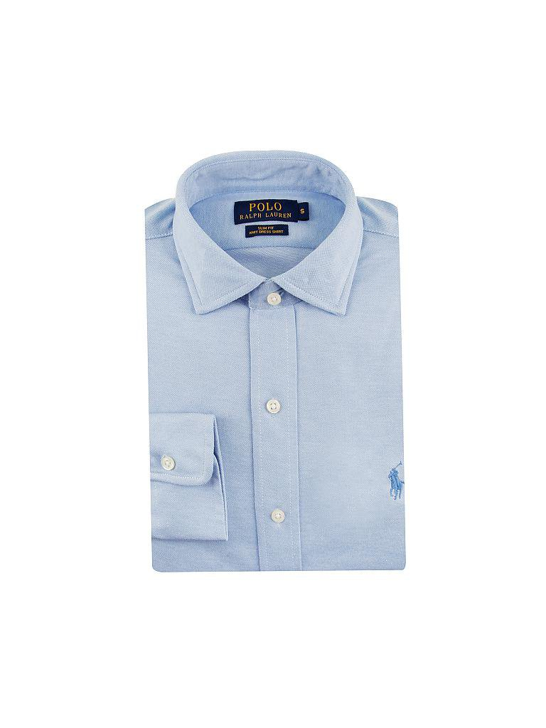 POLO RALPH LAUREN | Jerseyhemd Slim-Fit | blau