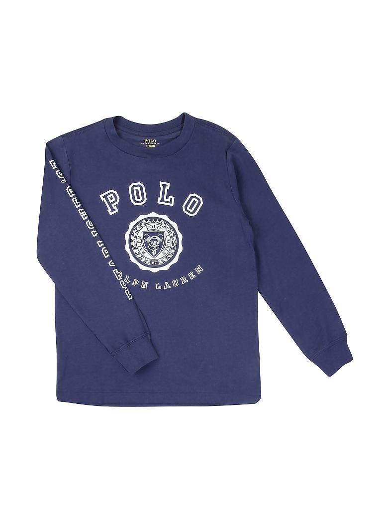d590c50e15276d POLO RALPH LAUREN Jungen-Langarmshirt blau