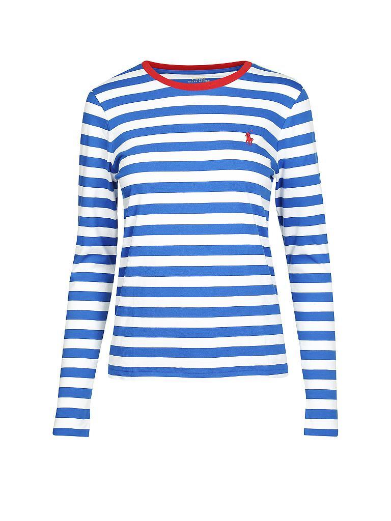 34a380e7ab14b4 POLO RALPH LAUREN Langarmshirt blau