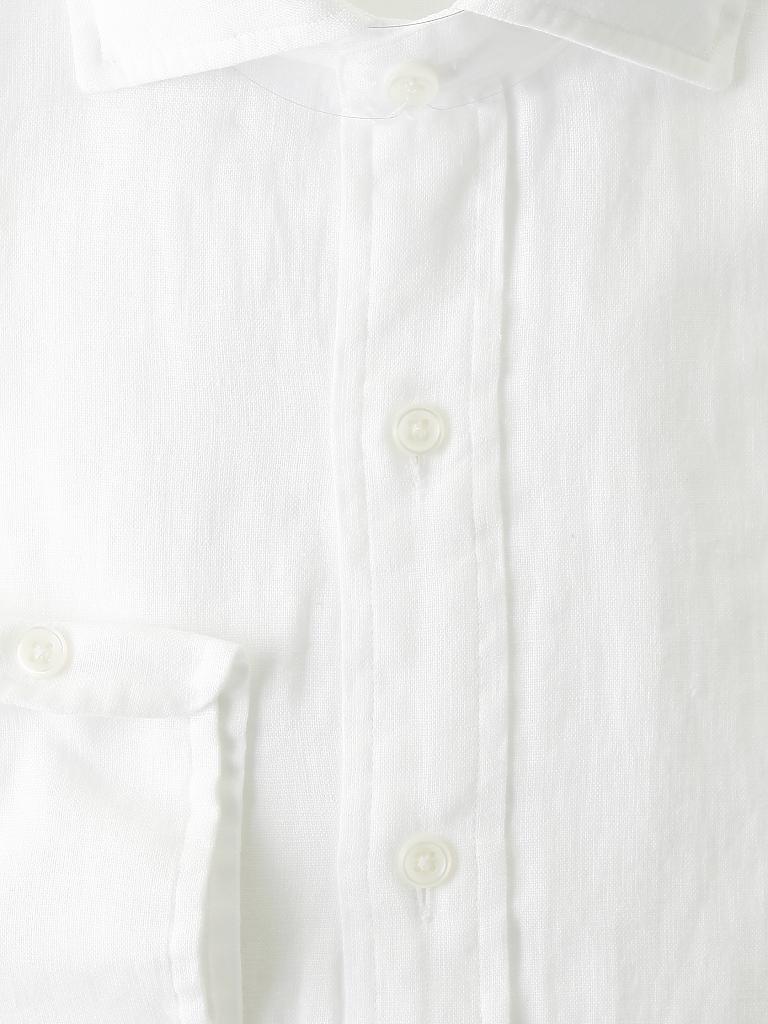 polo ralph lauren leinen hemd slim fit wei s. Black Bedroom Furniture Sets. Home Design Ideas