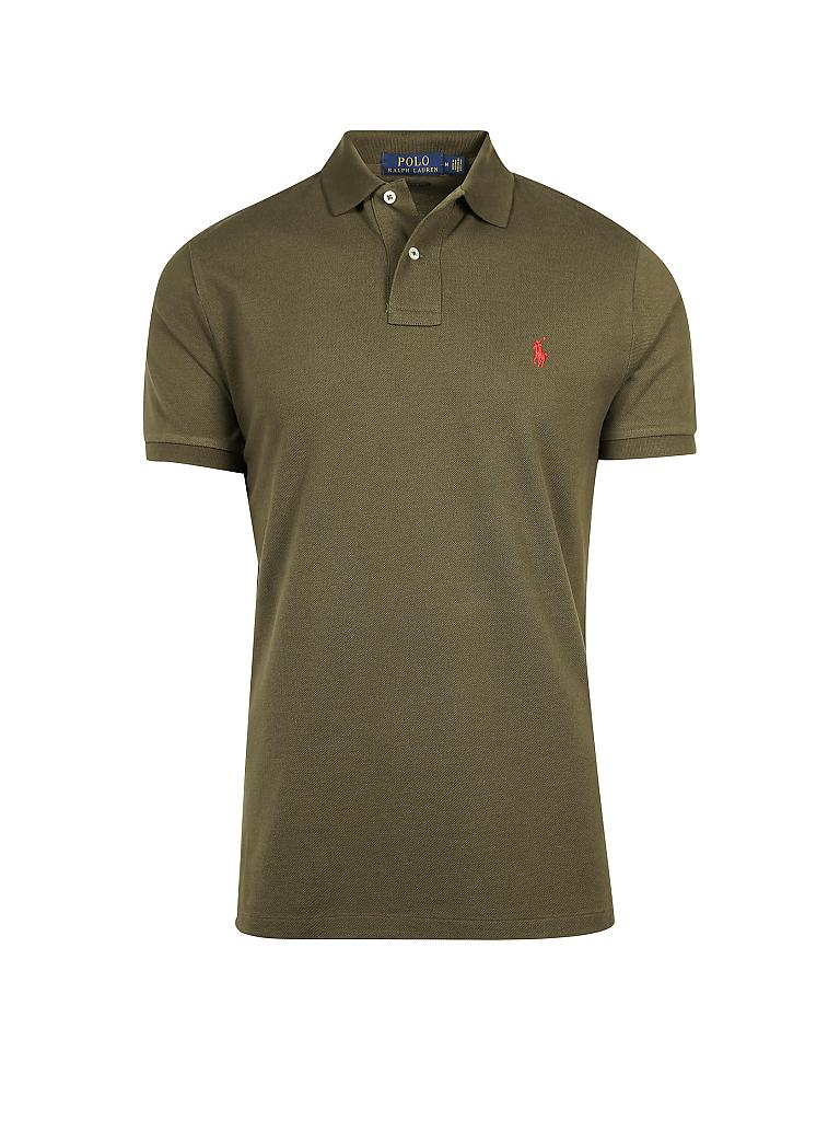 POLO RALPH LAUREN | Poloshirt Custom-Slim-Fit | olive