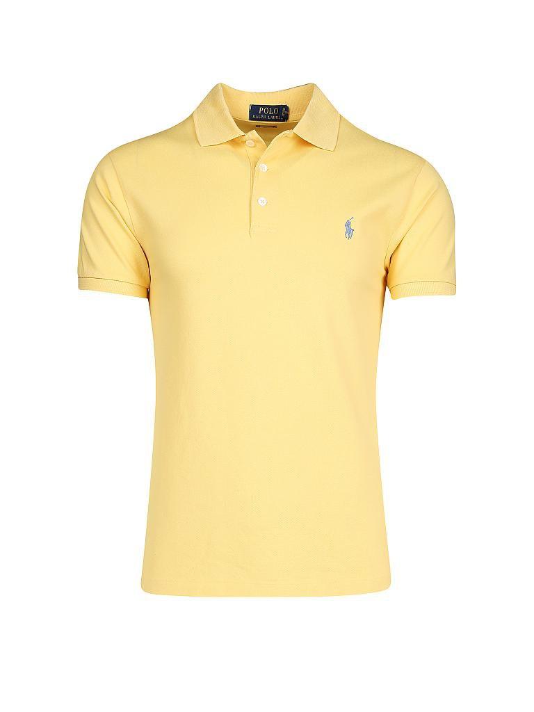 Netzgewebe Baumwolle Ralph Lauren Poloshirt