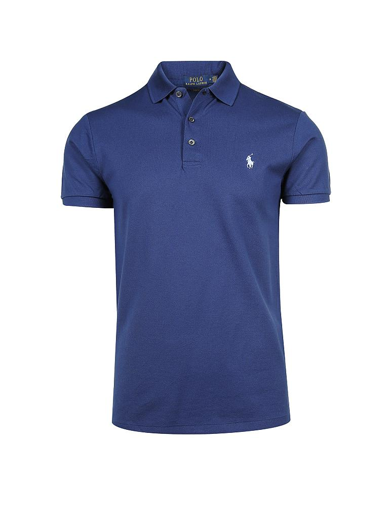 POLO RALPH LAUREN | Poloshirt Slim-Fit  | blau