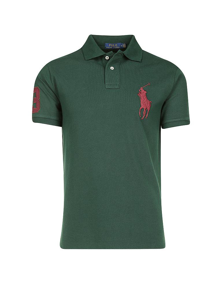 53ac847c7681e7 ... where to buy polo ralph lauren poloshirt slim fit grün 12c65 8b2f3