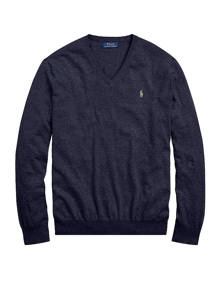 POLO RALPH LAUREN | Pullover Slim Fit | blau