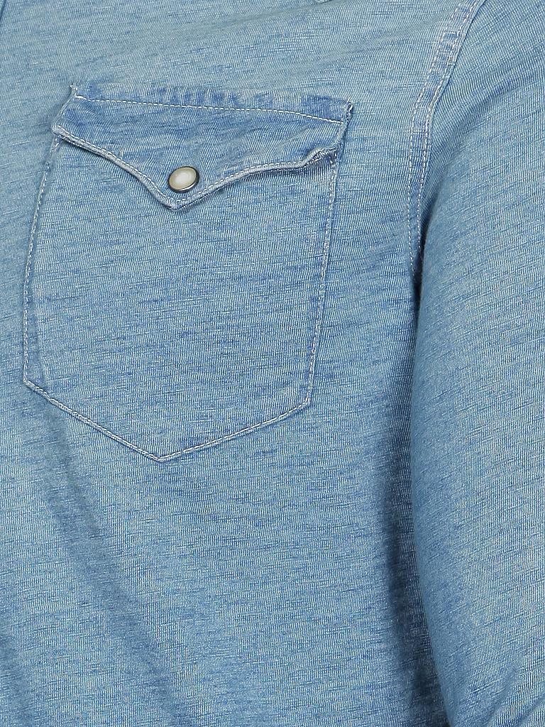 POLO RALPH LAUREN | Sweat-Hemd | blau