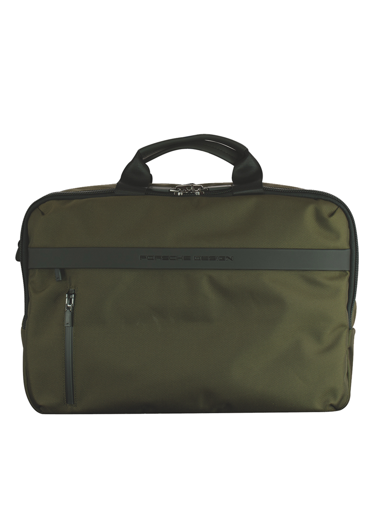 PORSCHE DESIGN | Cargon 3.0 BriefBag MHZ (Green) | olive