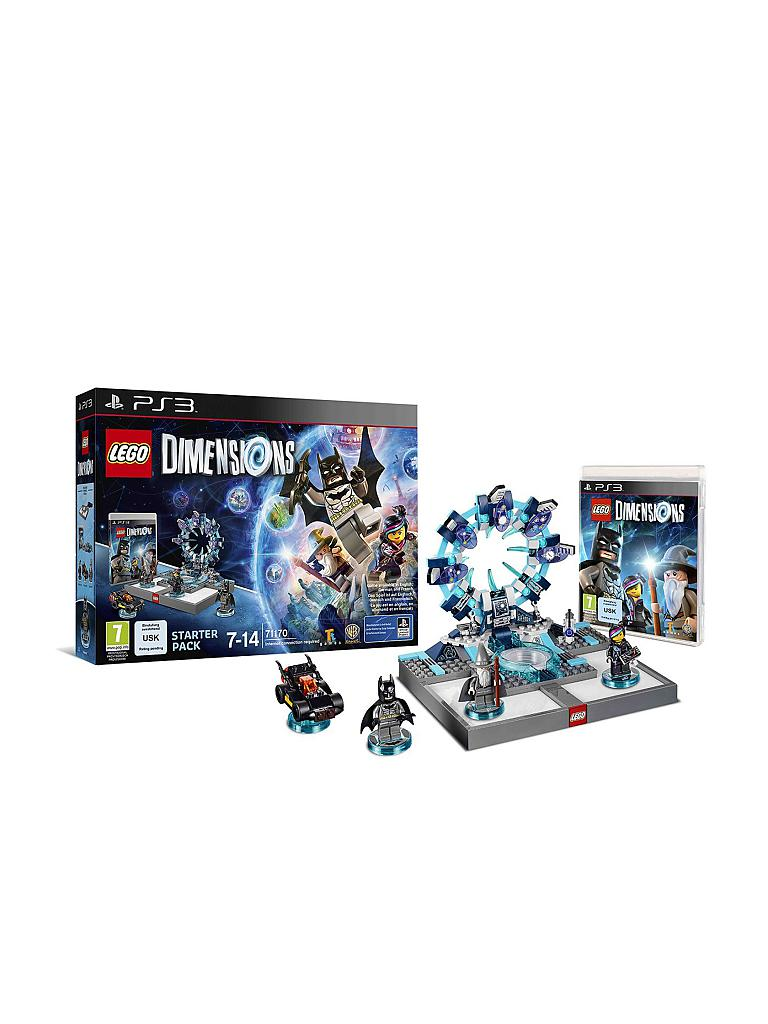PS 3 | LEGO DIMENSIONS - Starter Pack | transparent