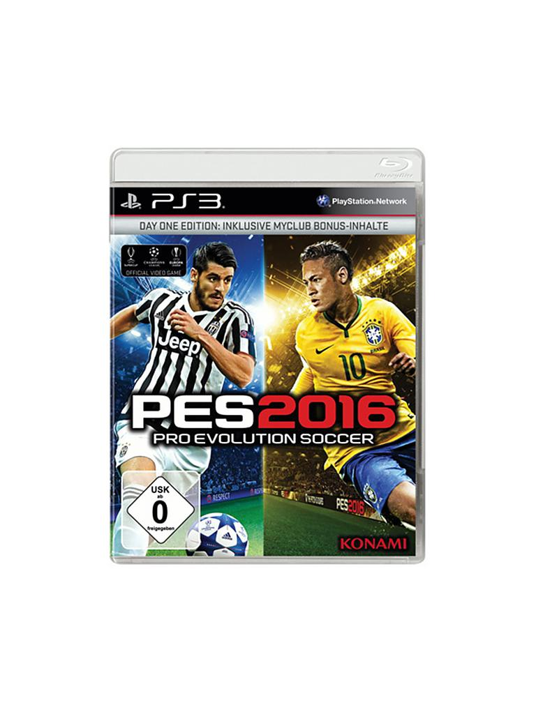 PS 3 | PES Pro Evolution Soccer 2016 - Day One Edition | transparent