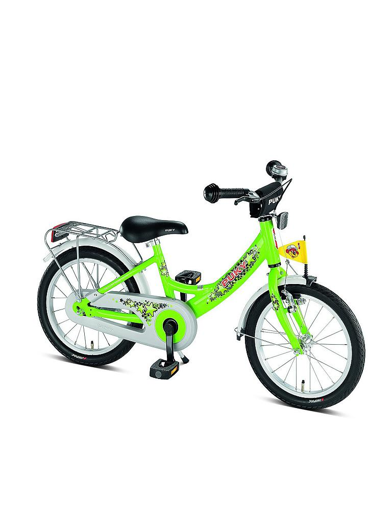puky kinder fahrrad zl 16 1 alu 4225 gr n. Black Bedroom Furniture Sets. Home Design Ideas
