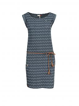 Ragwear Jerseykleid Tag Blau Xs