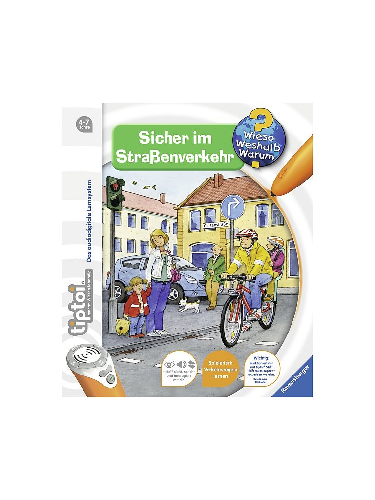 RAVENSBURGER Tiptoi - Sicher im Straßenverkehr