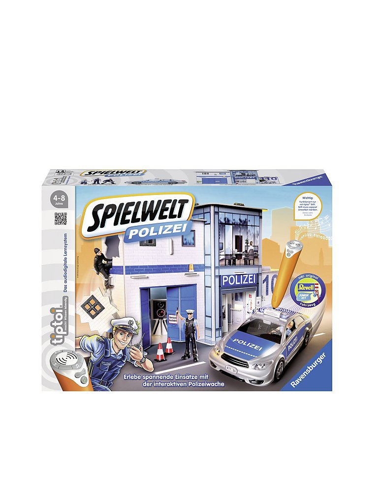 RAVENSBURGER Tiptoi - Spielwelt Polizei
