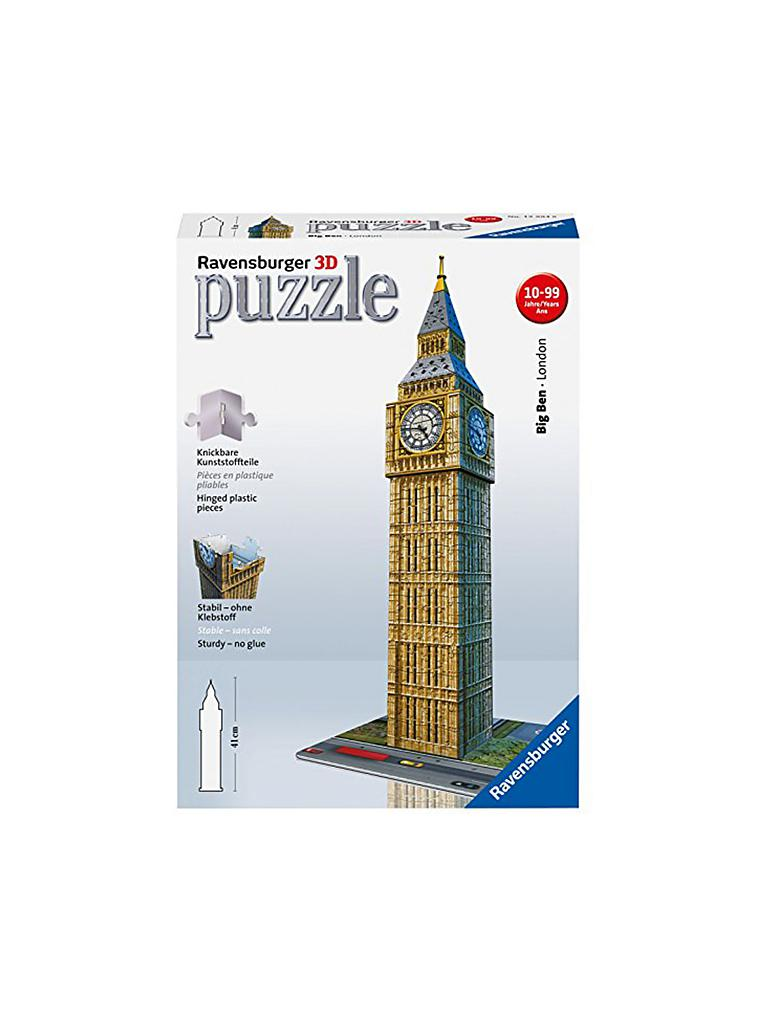 RAVENSBURGER | 3D Puzzle - Big Ben | transparent