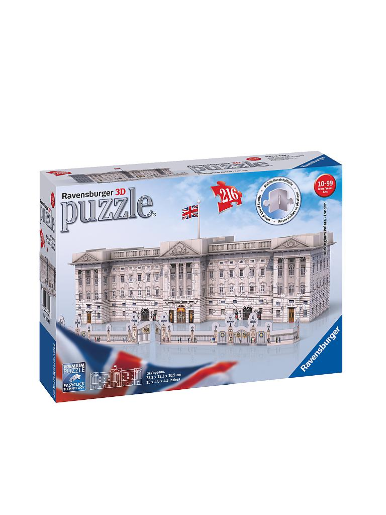 RAVENSBURGER | 3D Puzzle - Buckingham Palace | transparent