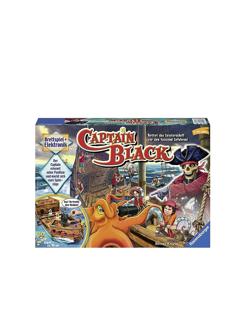 RAVENSBURGER | Captain Black | transparent