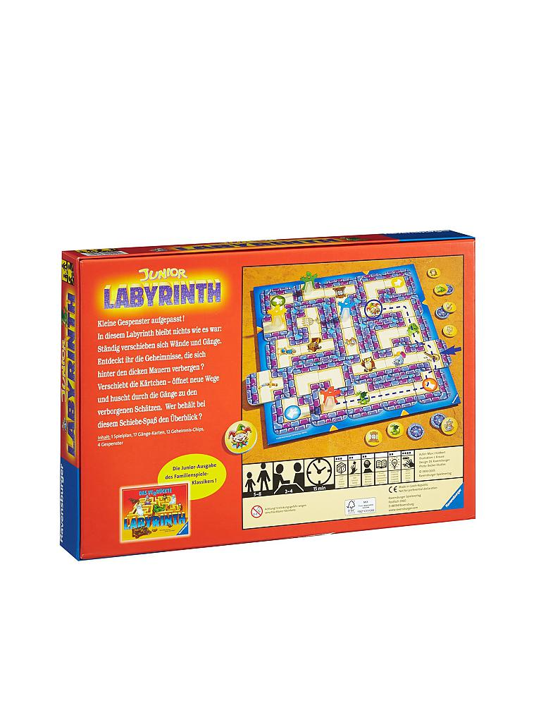RAVENSBURGER | Junior Labyrinth | transparent