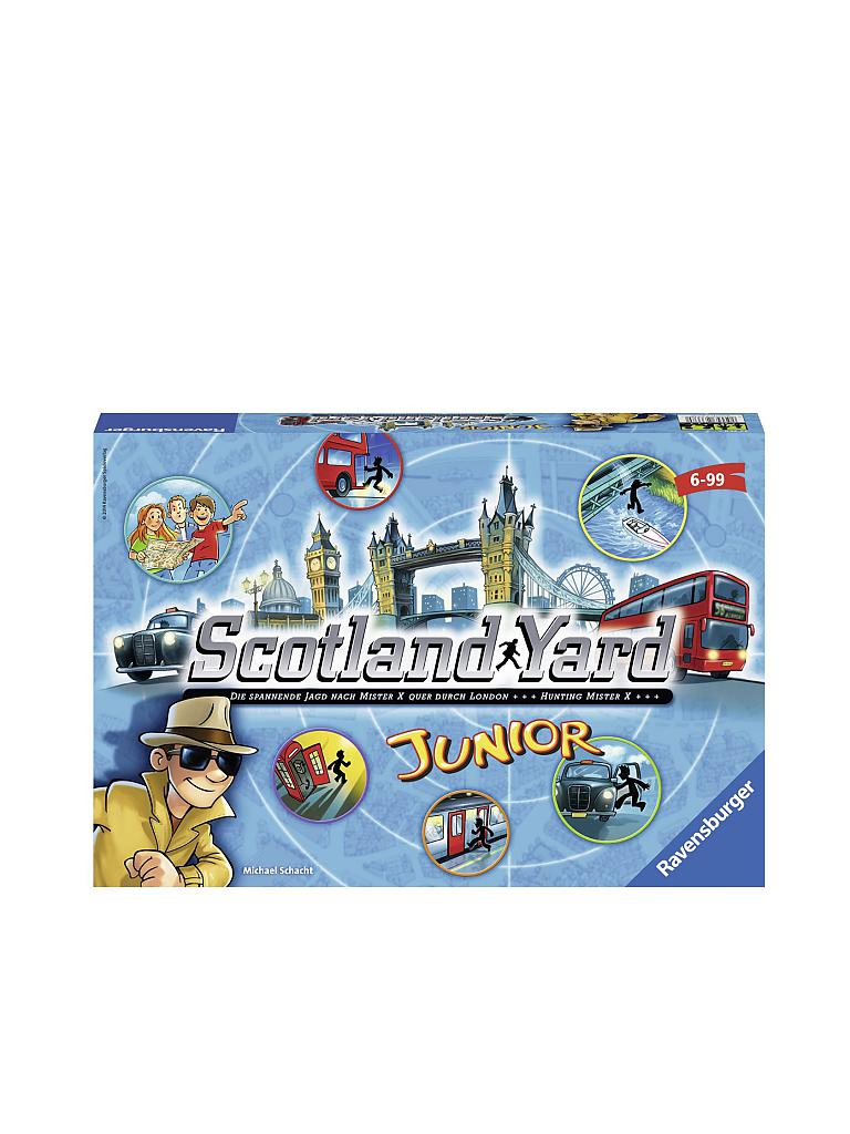 RAVENSBURGER | Kinderspiel - Scotland Yard Junior | transparent