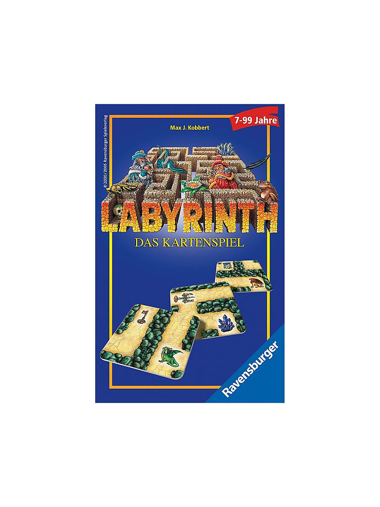 RAVENSBURGER | Labyrinth - Das Kartenspiel  | transparent