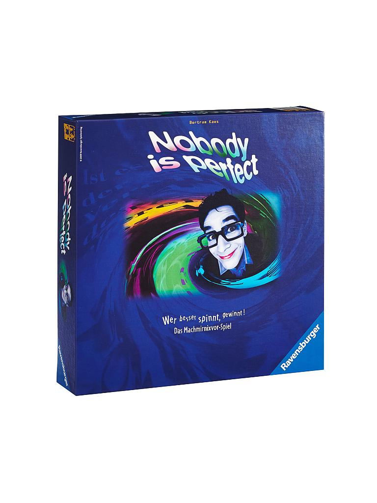 RAVENSBURGER | Nobody is Perfect | transparent
