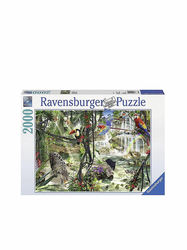 ravensburger puzzle dschungelimpressionen 2000 teile transparent. Black Bedroom Furniture Sets. Home Design Ideas