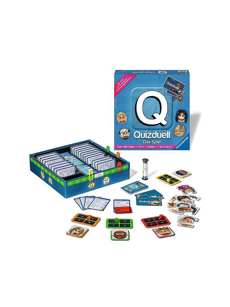 RAVENSBURGER | Quizduell | transparent
