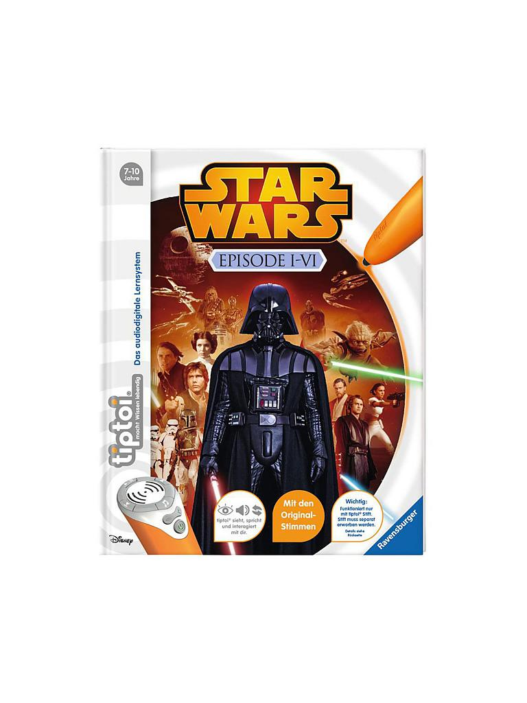 RAVENSBURGER | Tiptoi - Star Wars Episode 1-6 | transparent