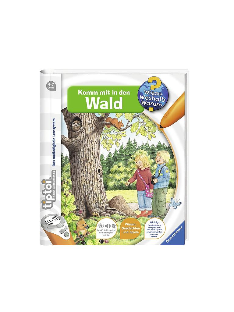 RAVENSBURGER | Tiptoi- Komm in den Wald | transparent