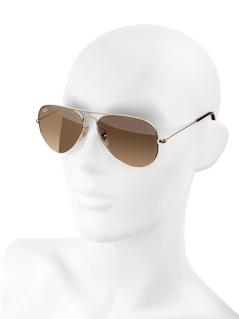 "RAY BAN | Sonnenbrille ""Aviator"" 55 
