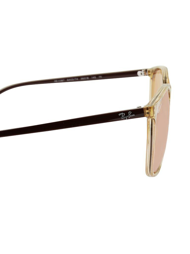 235f9100bc9 RAY BAN Sonnenbrille RB4387 56 (640374) beige